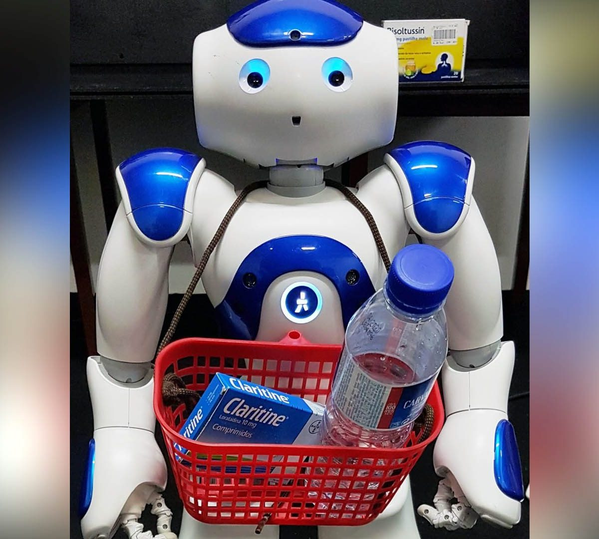 Robô ajuda Idosos - Imagem UTAD