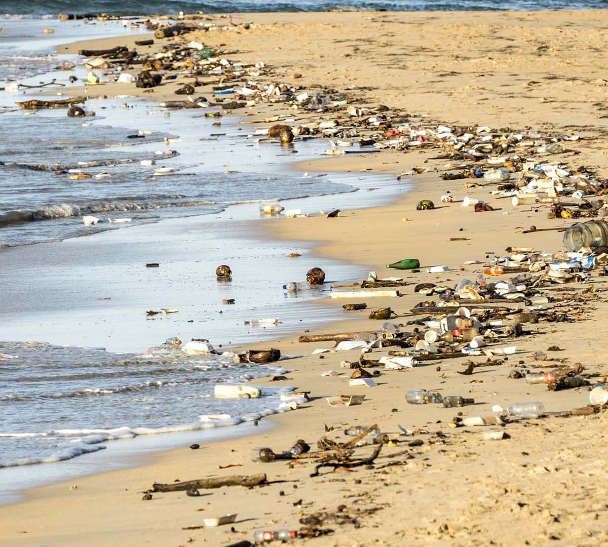 Poluição Plástico Marítima - ONU