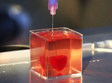 Coração Impresso em 3D