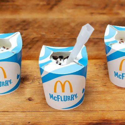 Mcflurry Sem Plástico