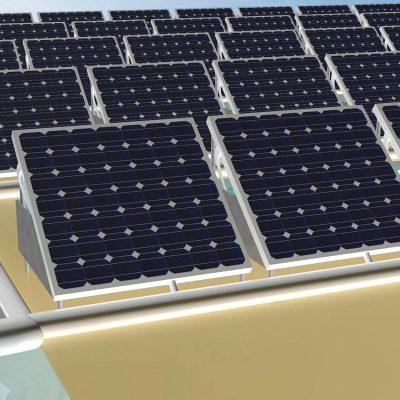 Energia Solar e Água - Dispositivo Único